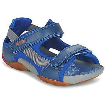 Buty Chłopiec Sandały Camper OUS Niebieski