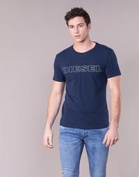 tekstylia Męskie T-shirty z krótkim rękawem Diesel JAKE Marine