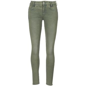 tekstylia Damskie Spodnie z pięcioma kieszeniami G-Star Raw D-STAQ 5-PKT MID SKINNY COJ WMN Light / Hunter