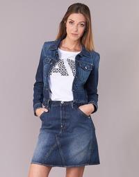 tekstylia Damskie Kurtki jeansowe G-Star Raw D-STAQ S DC DNM JKT WMN Medium