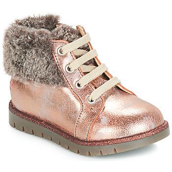 Buty Dziewczynka Trampki wysokie GBB RENATA Różowy