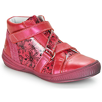 Buty Dziewczynka Trampki wysokie GBB RADEGONDE Różowy