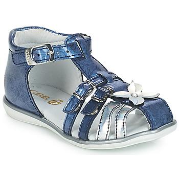Buty Dziewczynka Sandały GBB SHANICE Niebieski