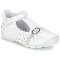 Buty Dziewczynka Sandały GBB SALOME Biały