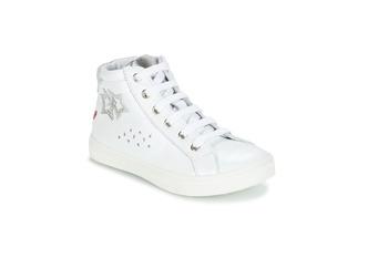 Buty Dziewczynka Trampki wysokie GBB SERAPHINE Biały