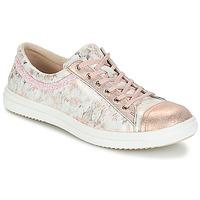 Buty Dziewczynka Buty za kostkę GBB GINA Różowy-szary