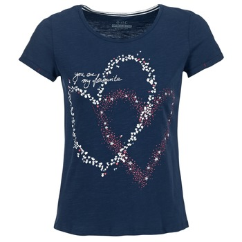 tekstylia Damskie T-shirty z krótkim rękawem Esprit WEJA Marine