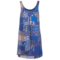 tekstylia Damskie Sukienki krótkie Desigual OFFOELA Niebieski