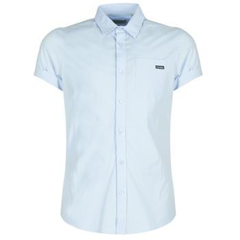 tekstylia Męskie Koszule z krótkim rękawem Kaporal LOGIK Niebieski