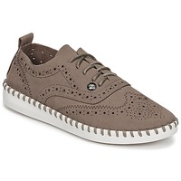 Buty Damskie Derby LPB Shoes DIVA Taupe