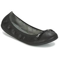 Buty Damskie Baleriny LPB Shoes ELLA VELOUR Czarny