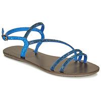 Buty Damskie Sandały LPB Shoes NELLY Niebieski