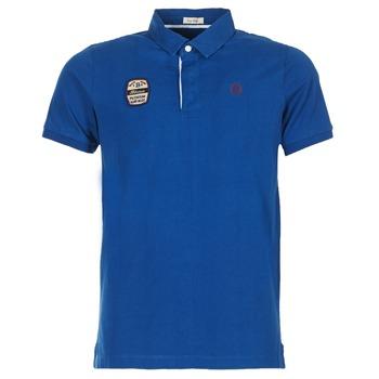 tekstylia Męskie Koszulki polo z krótkim rękawem Serge Blanco DOSSART 15 Niebieski