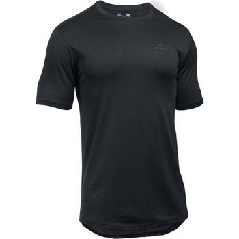 tekstylia Męskie T-shirty z krótkim rękawem Under Armour Sportstyle Core Tee 1303705-001 Czarne
