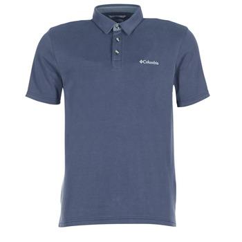 tekstylia Męskie Koszulki polo z krótkim rękawem Columbia NELSON POINT POLO Marine