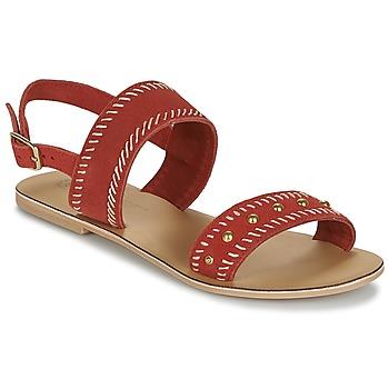 Buty Damskie Sandały Betty London IKARI Czerwony