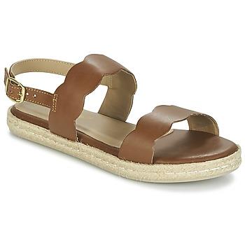 Buty Damskie Sandały Betty London IKARO Brązowy