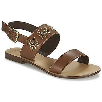 Buty Damskie Sandały Betty London IKIMI Brązowy