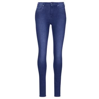 tekstylia Damskie Jeansy skinny Pepe jeans REGENT Niebieski