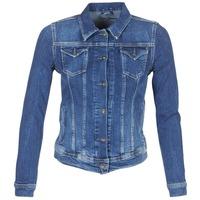 tekstylia Damskie Kurtki jeansowe Pepe jeans THRIFT Niebieski / Medium