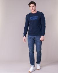 tekstylia Męskie Jeansy slim fit Levi's 511™ SLIM FIT Niebieski