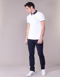 tekstylia Męskie Spodnie z pięcioma kieszeniami Levi's 511™ SLIM FIT Niebieski / Fonce