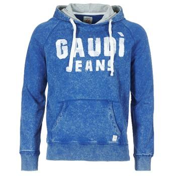 tekstylia Męskie Bluzy Gaudi LEFEMO Marine
