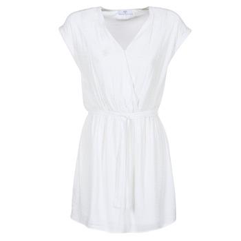 tekstylia Damskie Sukienki krótkie Le Temps des Cerises FORKATON Biały