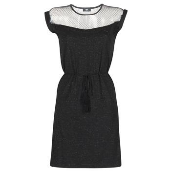 tekstylia Damskie Sukienki krótkie Le Temps des Cerises JURIETO Czarny
