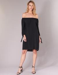 tekstylia Damskie Sukienki krótkie LPB Shoes ARIN Czarny