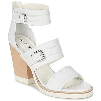 Buty Damskie Sandały Strategia BARREA Biały