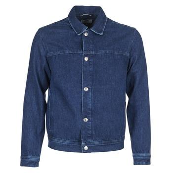 tekstylia Męskie Kurtki jeansowe Tommy Jeans TJM STREET TRUCKER JKT Niebieski / Medium