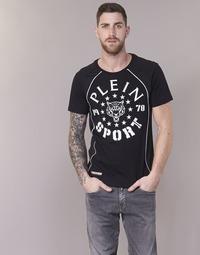 tekstylia Męskie T-shirty z krótkim rękawem Philipp Plein Sport LIONEL Czarny / Biały