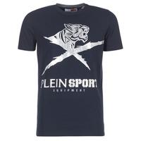 tekstylia Męskie T-shirty z krótkim rękawem Philipp Plein Sport BORIS Marine / Srebrny