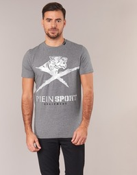 tekstylia Męskie T-shirty z krótkim rękawem Philipp Plein Sport BORIS Szary / Srebrny