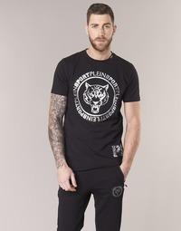 tekstylia Męskie T-shirty z krótkim rękawem Philipp Plein Sport IVAN Czarny / Srebrny