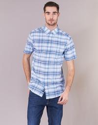 tekstylia Męskie Koszule z krótkim rękawem Gant BLUE PACK MADRAS REG Niebieski