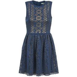 tekstylia Damskie Sukienki krótkie Manoush NEOPRENE Niebieski / Dore