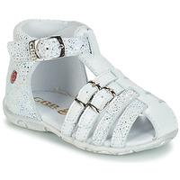 Buty Dziewczynka Sandały GBB SAMIRA Biały