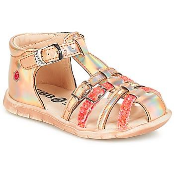 Buty Dziewczynka Sandały GBB PERLE Różowy