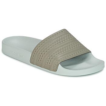 Buty klapki adidas Originals ADILETTE Beżowy / Zielony