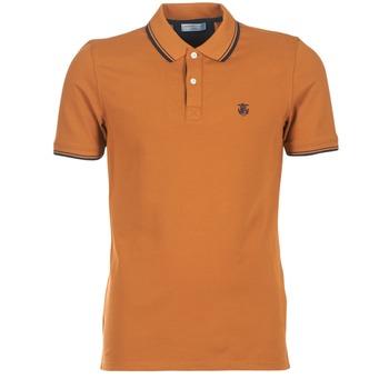 tekstylia Męskie Koszulki polo z krótkim rękawem Selected SEASON Brązowy