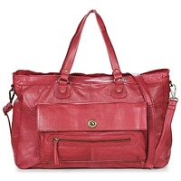 Torby Damskie Torby na ramię Pieces TOTALLY ROYAL LEATHER TRAVEL BAG Bordeaux