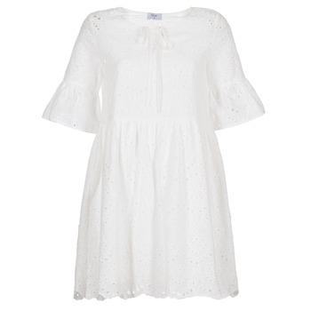 tekstylia Damskie Sukienki krótkie Betty London INNATU Biały