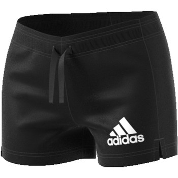 Szorty i Bermudy adidas ESS SOLID SHORT BLACK/WHITE B45780