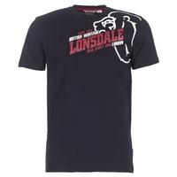 tekstylia Męskie T-shirty z krótkim rękawem Lonsdale WALKLEY Czarny