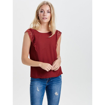 Bluzki Only TOP onlERIKA VENICE S/L TOP BOX WVN