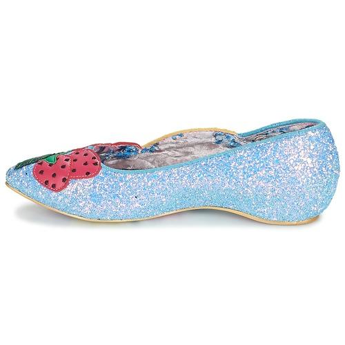 BANANA BOAT  Irregular Choice  baleriny  damskie  niebieski