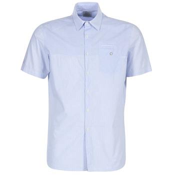 tekstylia Męskie Koszule z krótkim rękawem Oxbow K1CAMINO Niebieski / Ciel