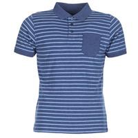tekstylia Męskie Koszulki polo z krótkim rękawem Casual Attitude INUTIOLE Niebieski / Biały